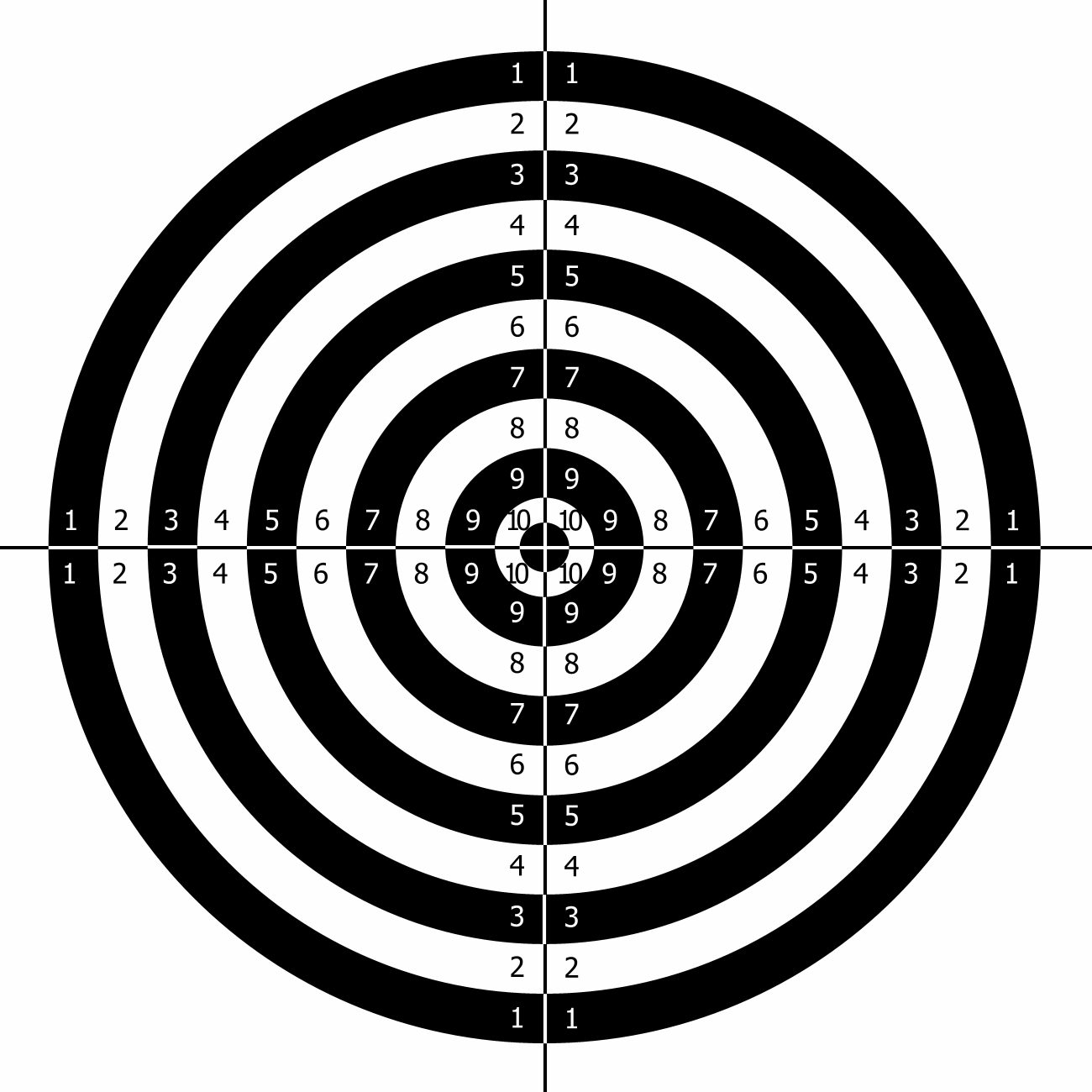 printable paper targets Free targets that are printable in pdf format    Police Shooting Target